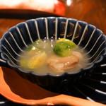 東京チャイニーズ 一凛 - 蛤のスープ