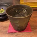 揚旬 - 麦焼酎水割り