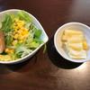 中國料理 萬来 - 料理写真:サラダとお新香