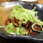 鴨と豚 とんぺら屋 - どて煮 柚子風味