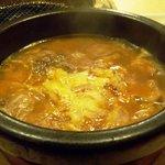 赤坂アリラン - グツグツ「韓バーグ」鍋