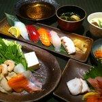 膳 - 海鮮しまなみ御膳…2100円