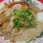 ラーメン魁力屋 - 特製醤油ラーメン650円
