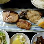 漁火亭 - 焼き魚定食