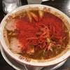 牡丹 - 料理写真:カレーラーメンd( ̄.  ̄)雷神.。.:*☆