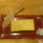 国分寺そば - 卵焼き