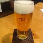 国分寺そば - 生ビール