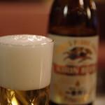 デンキヤホール - 先ずはビール