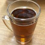 お食事処 磯の坊 - 無料のドリンクバーはウーロン茶を頂きました❗️