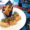 ル・プーレ ブラッスリーうかい - 料理写真:ロティサリーチキンのサンドイッチ。