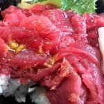 寿司吉 - 鮪の量(厚み)わかりますか⁇