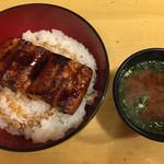 63882943 - 鰻丼☆★★☆赤出汁