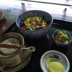 出の山いこいの家 - 料理写真:鯉茶漬け980円
