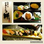 回転寿司 鮮 - 料理写真:2017.03