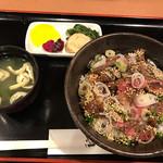 武乃蔵 - ステーキ丼(850円)