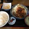 ちとせ食堂 - 料理写真:豚生姜焼定食!柔らかくて肉に旨味美味しい!