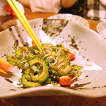 ニライカナイ - ゴーヤとじゃこのサラダ。