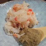 63901578 - 香住産松葉ガニ、カニ味噌