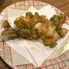 正義の味方 - 料理写真:海老とふきのとうのかき揚げ