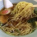 食堂 一休 - ラーメン 麺リフト