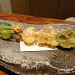 ワサビ - 料理写真:ひと串目(*^^*)素敵やね