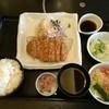 和食さと - 料理写真:ロースとんかつ&ミニサラダセット