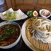 田舎うどん てつ - 料理写真:地鶏つけめん(800円)_2017-03-14