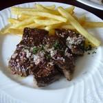 ブション・ドール - 牛バベット(はらみ)ステーキ