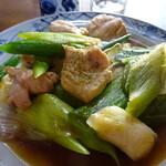 刀屋 - かも煮(鶏肉)