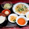 湖南 - 料理写真:本日のタイムランチ ポークとニラ、モヤシの黒コショー炒め