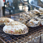 旬味 かきの里 - 焼き牡蠣&焼き帆立