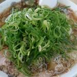 来来亭 - ワンタン麺、葱多目