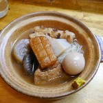 海鮮料理 沖菜 - おでん盛り