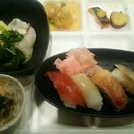 グルメバイキング オリンピア - お寿司、田楽等々