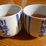 川端ぜんざい広場 - (2017/1月)お茶