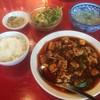 中国料理 四川  - 料理写真:セレクトランチの麻婆豆腐セット