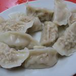 大連 - 料理写真:牛肉茹で餃子