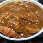 清平 - カツカレーうどん