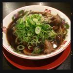 新福菜館 - 中華そば 700円