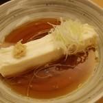 鳥料理 有明 - 滝川豆腐