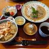 明日葉 - 料理写真:桜海老のかき揚げ丼セット