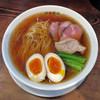 鉢ノ葦葉 - 料理写真:ヤマコ超特選醤油煮干しらーめんwithくんたま