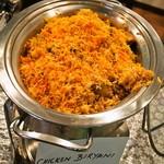 大阪ハラールレストラン - 料理写真:金曜日スペシャルランチビュッフェ(CHICKEN BIRIYANI)