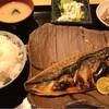 魚肴食堂 魚ふじ - 料理写真:さばの塩焼きセット972円(税込)