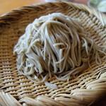 蕎音 - 料理写真:もり蕎麦・1合半