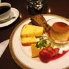 丸福珈琲店 - 料理写真:パウンドケーキアラモード・ドリンクセット