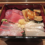 鮨与志乃 - 料理写真:「お重四点盛り」