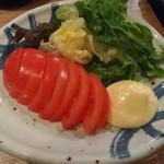 国分寺CHUBO はっぴ - 冷やしトマトスライス
