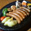 セント シュバイン - 料理写真:ソーセージグリル