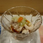 魚がし寿司 - 白子ぽん酢